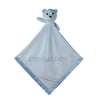 Large Ultra Plush Personalized Teddy Bear Blanket with Satin Trim