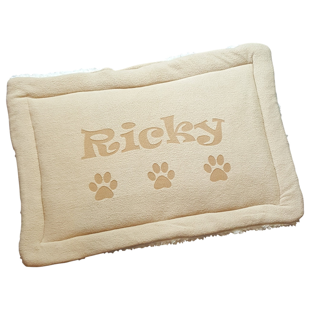 Personalized Dog Nap Mat with Design