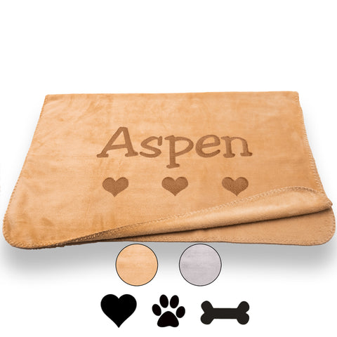 Personalized Dog Blanket