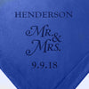 Personalized Mr & Mrs Couples Gift Throw Blanket