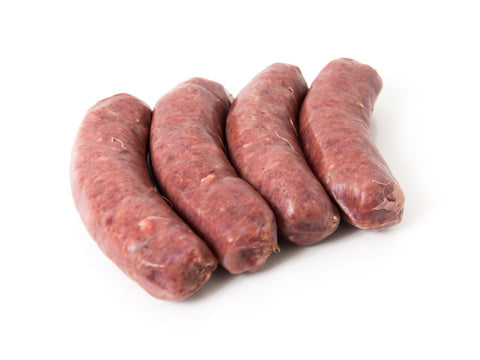Savoury Beef Dinner Sausages from Empire Valley Ranch, BC - Meatme Vancouver Delivery