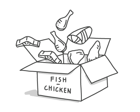 Subscription - Fish & Chicken Box
