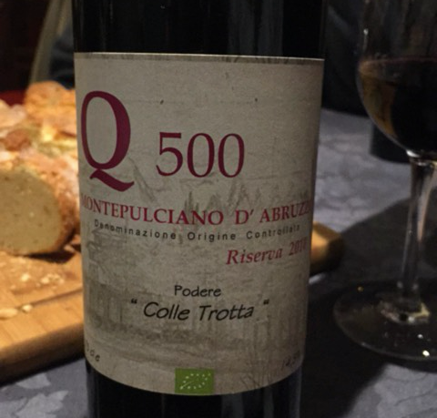 Colle Trotta's Beautiful Riserva 2008