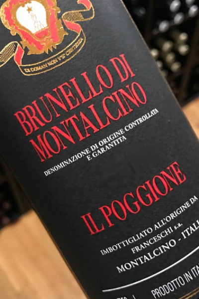 Il Poggione's 2013 Brunello: Let the Madness Begin