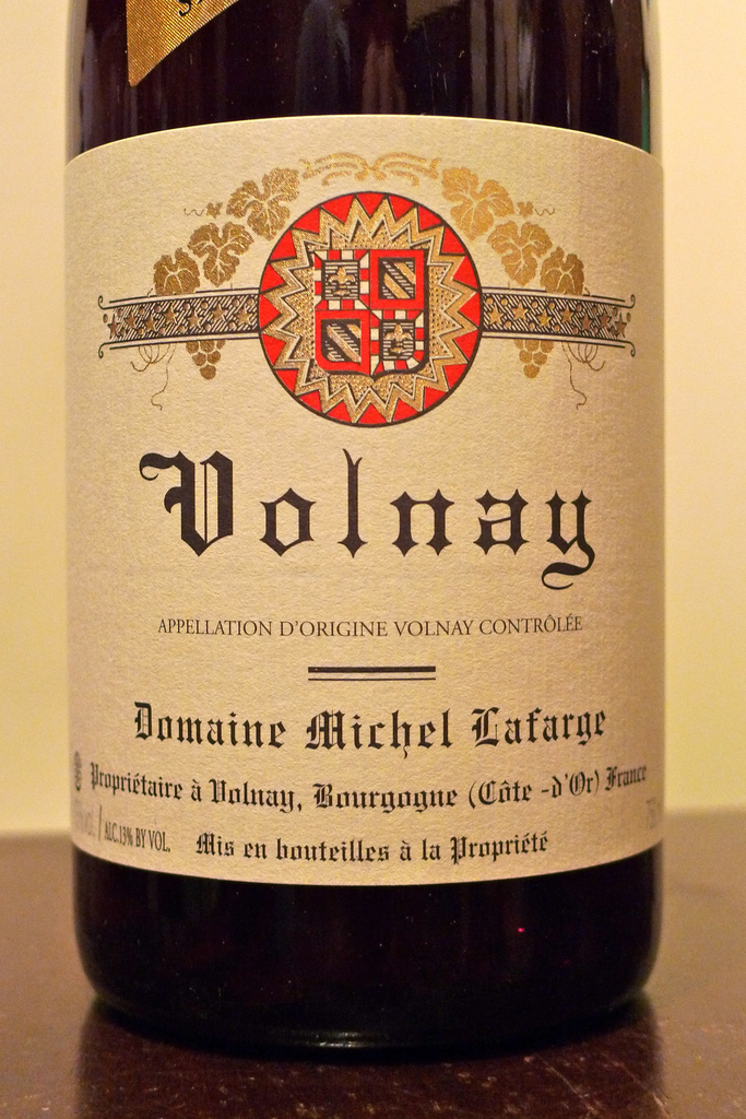 Domaine Michel Lafarge Volnay Vendages Selectionnees 2009, France-Burgundy-Red, Lafarge, Michel - MCF Rare Wine