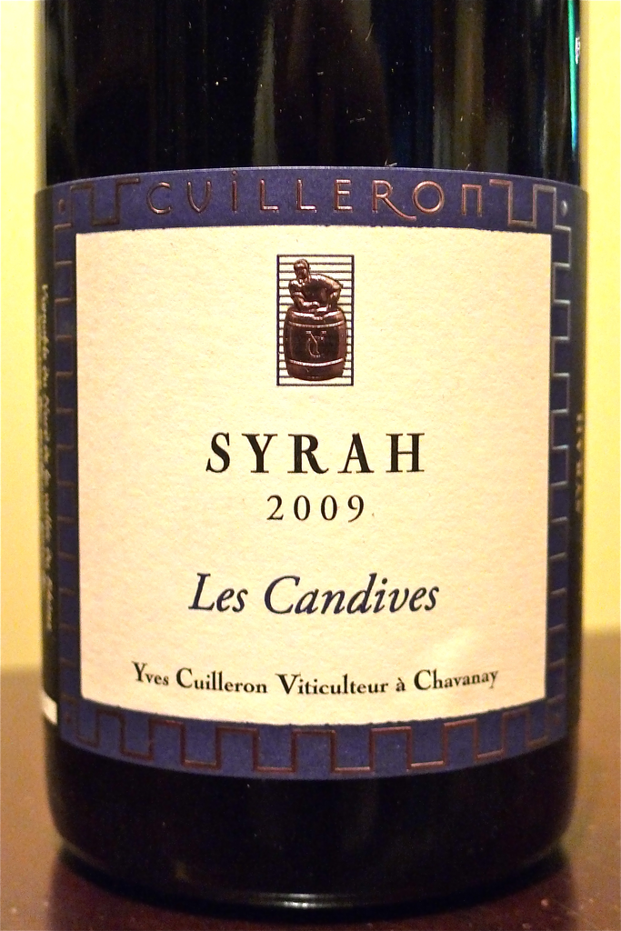 Yves Cuilleron Syrah Les Candives VDP Collines Rhodaniennes 2017