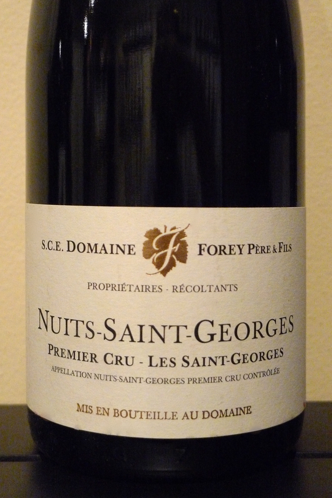 Domaine Forey Nuits Saint Georges 1er Cru Les Saint Georges 2011, France-Burgundy-Red, Forey Pere et Fils - MCF Rare Wine
