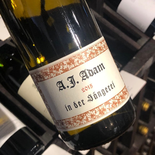 A.J. Adam Riesling Feinherb in der Sangerei 2015, Germany-Mosel-White, A.J. Adam - MCF Rare Wine