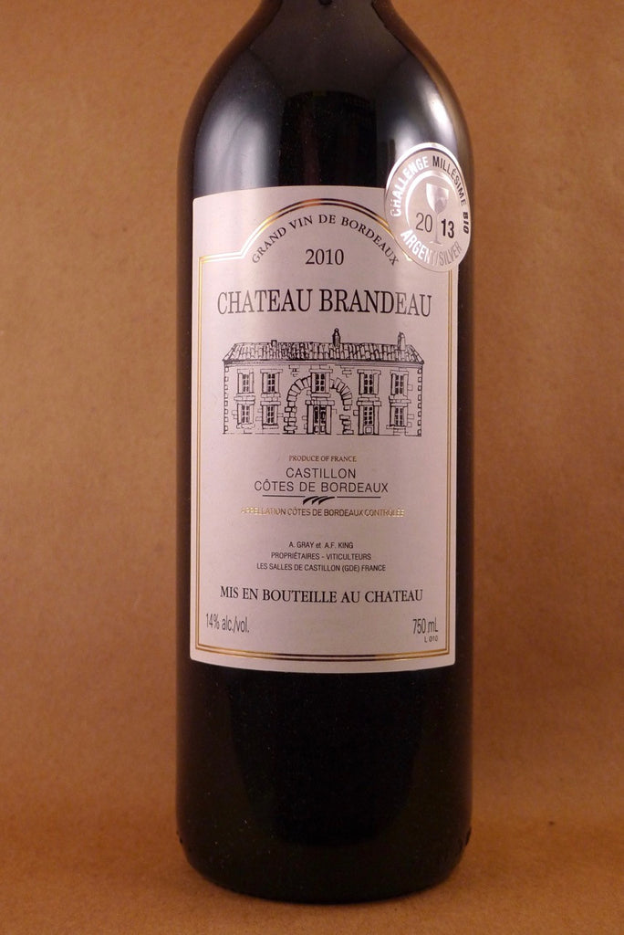 Chateau Brandeau Cotes de Castillon 2010, France-Bordeaux-Red, Brandeau, Chateau - MCF Rare Wine
