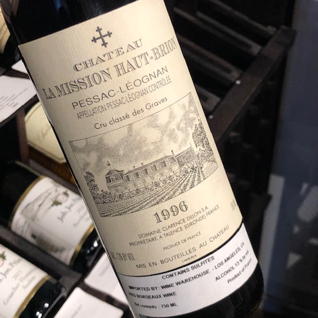 Chateau La Mission Haut-Brion 1996, France-Bordeaux-Red, La Mission Haut-Brion, Chateau - MCF Rare Wine