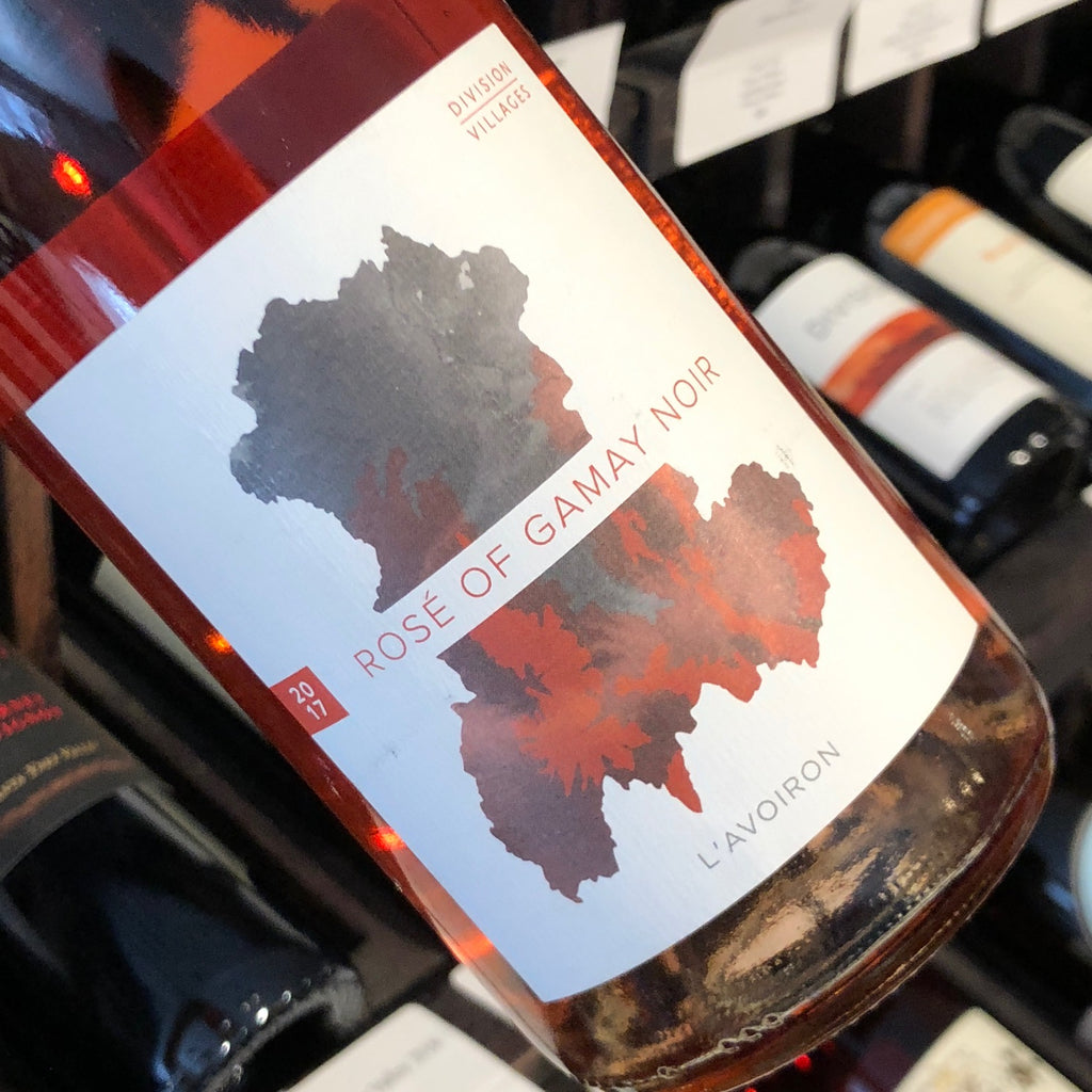Division Rose of Gamay Noir L'Avoiron 2017, USA-Oregon-Rose, MCF Rare Wine - MCF Rare Wine