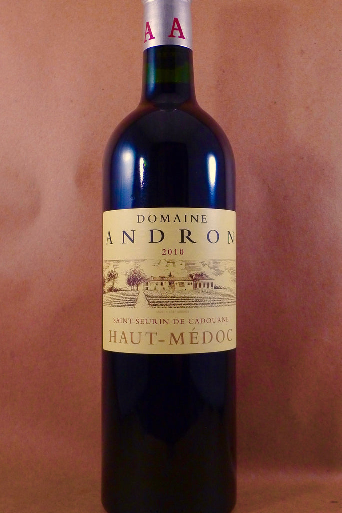Domaine Andron Haut Medoc 2010, France-Bordeaux-Red, Andron, Domaine - MCF Rare Wine
