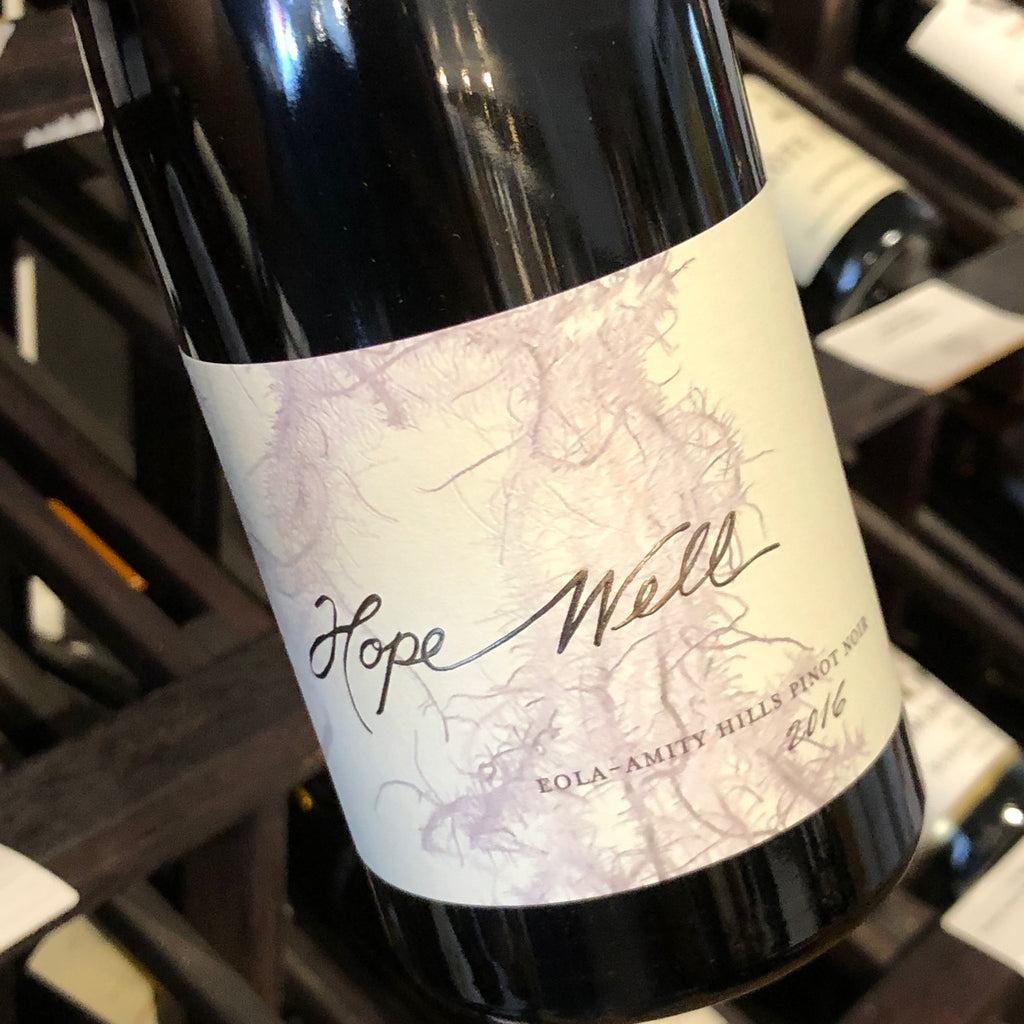 Hope Well Pinot Noir Eola Amity 2016