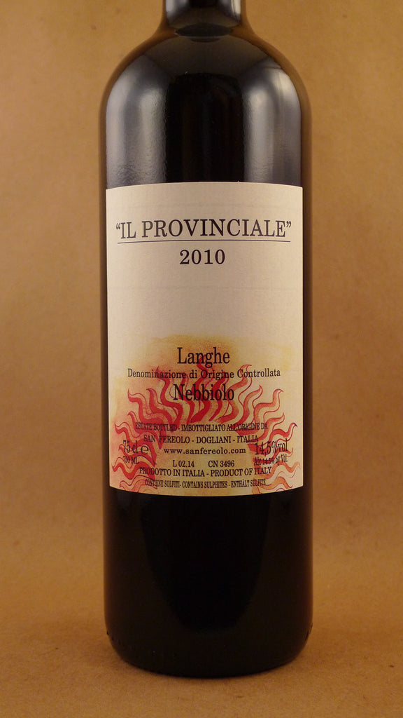 San Fereolo Langhe Nebbiolo Il Provinciale 2010, Italy-Piedmont-Red, San Fereolo - MCF Rare Wine