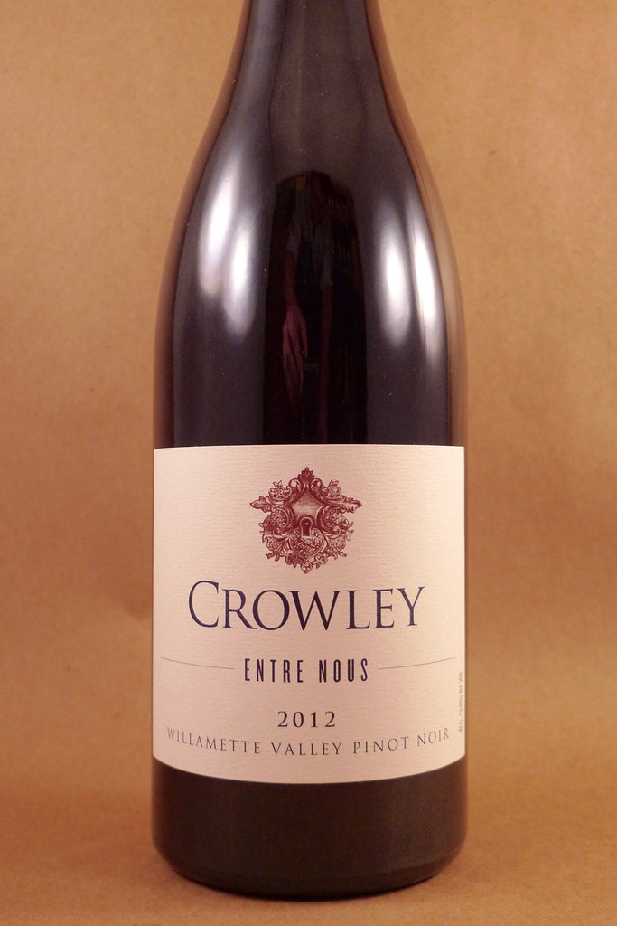Crowley Pinot Noir Entre Nous Willamette Valley 2012, USA-Oregon-Red, Crowley - MCF Rare Wine