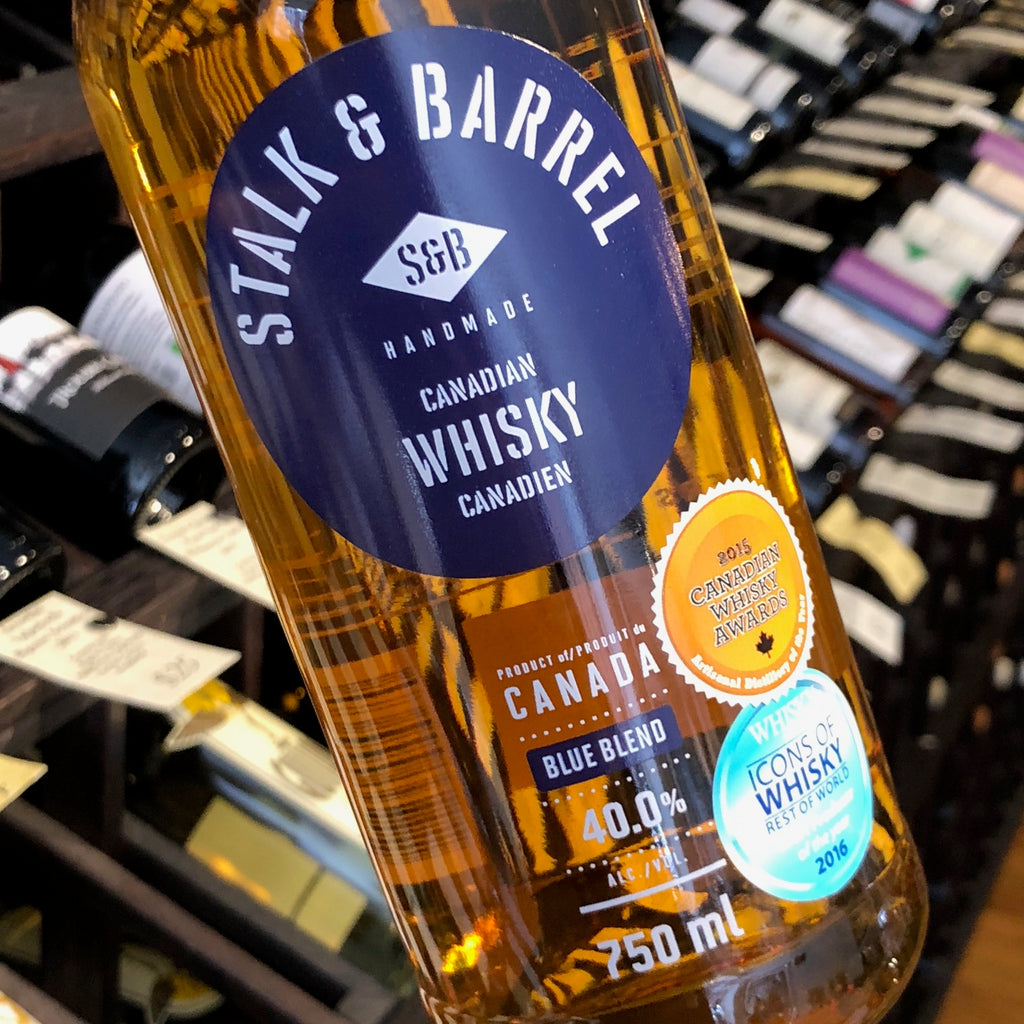 Stalk & Barrel Blue Blend Canadian Whisky 750ml