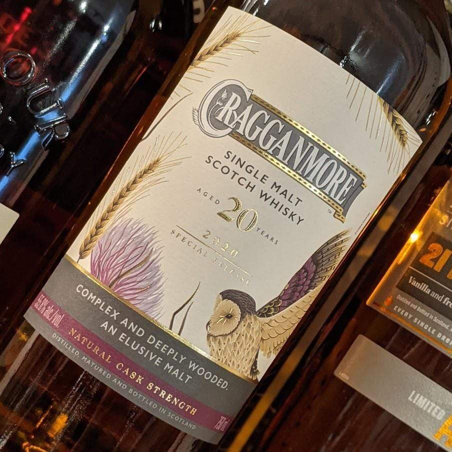Cragganmore 20yr 2020 Release Whiskey-Scotland-Single Malt MCF Rare Wine - MCF Rare Wine