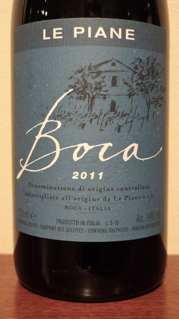 Le Piane Boca 2011, Italy-Piedmont-Red, Le Piane - MCF Rare Wine