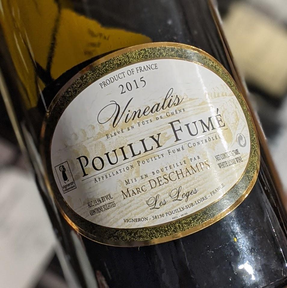 Marc Deschamps Pouilly Fume Vinealis 2015 1.5L France-Loire-White MCF Rare Wine - MCF Rare Wine