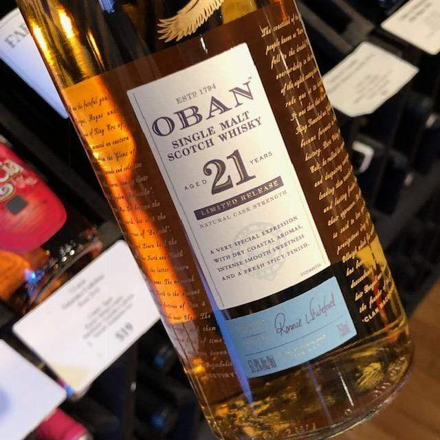Oban 21yr Whiskey-Scotland-Single Malt Oban - MCF Rare Wine