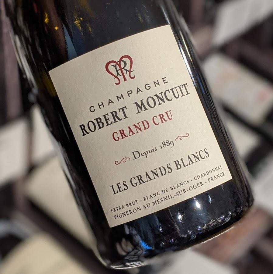Robert Moncuit Extra Brut Grand Cru Les Grands Blancs NV France-Champagne-Sparkling Moncuit, Robert - MCF Rare Wine
