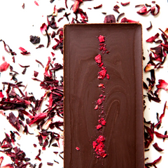 Raspberry Bar with Beetroot Infusion