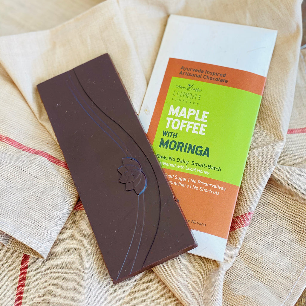 Maple Toffee with Moringa