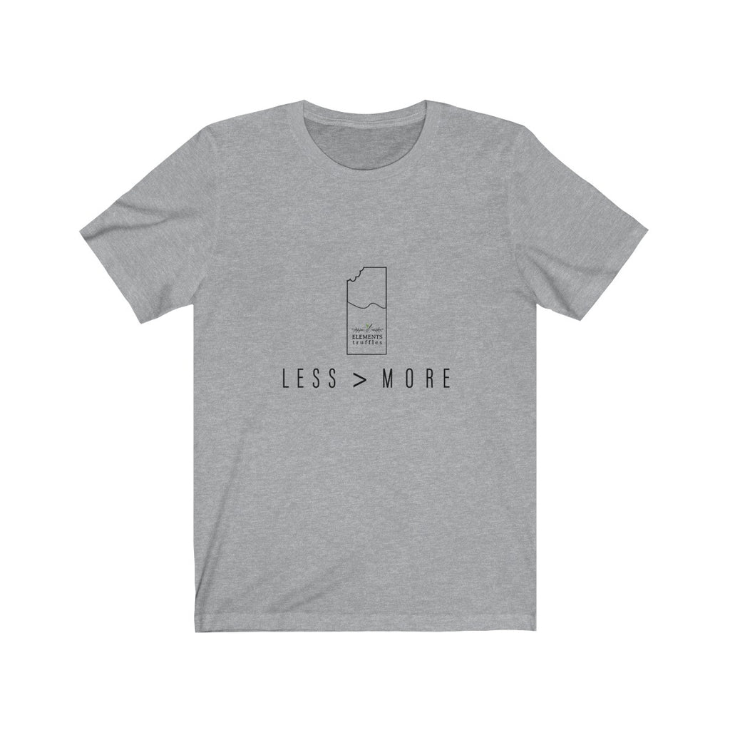 Less is More (unisex t-shirt)