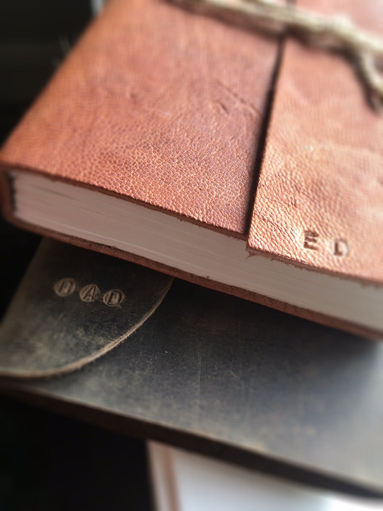 Leather Journals Arrive !!