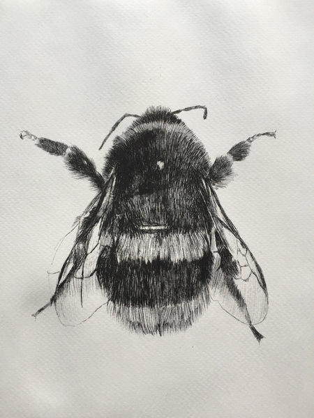 Bee Etching