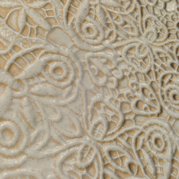 Fine Lace Embossed Dish