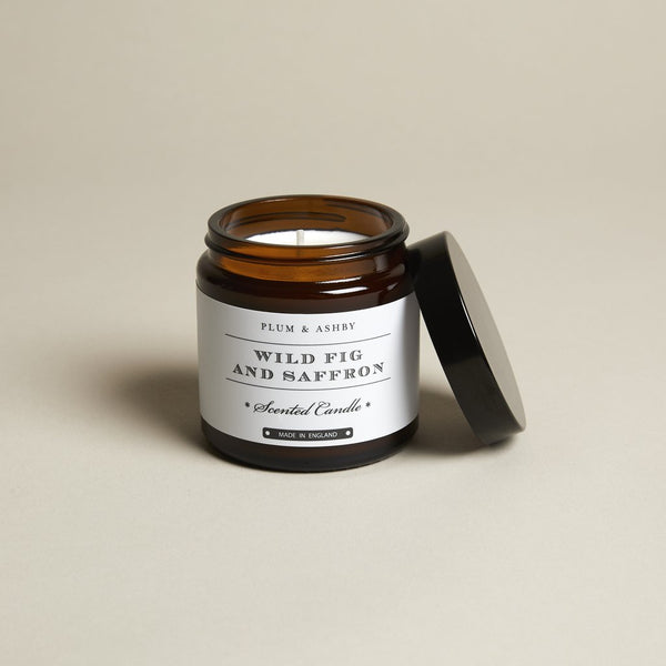 Wild Fig and Saffron Jar Candle