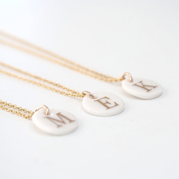 'Letter in a Bottle' Necklace.