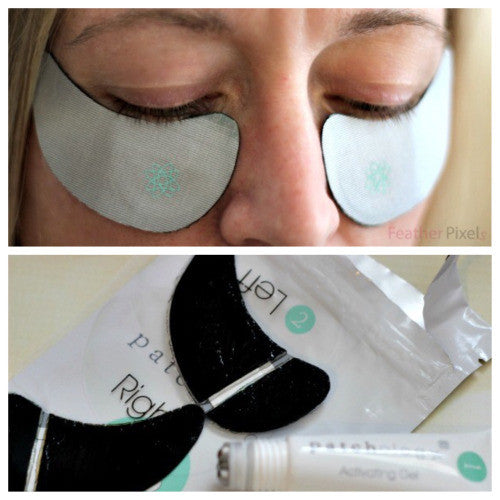 Reduce Puffy Eyes with Patchology's Energizing Eye Kit