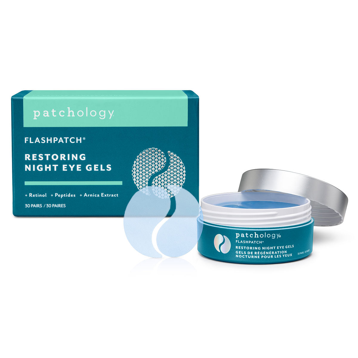FlashPatch¨ Restoring Night Eye Gels