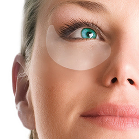 Woman with Eye Patch Close Up