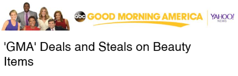 Good Morning America Great Deals : Gma yahoo steals and deals lamoureph