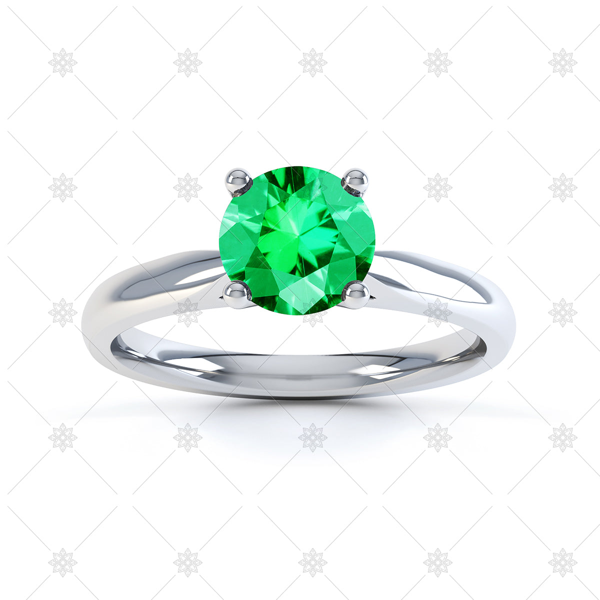 Emerald Gemstone Ring image
