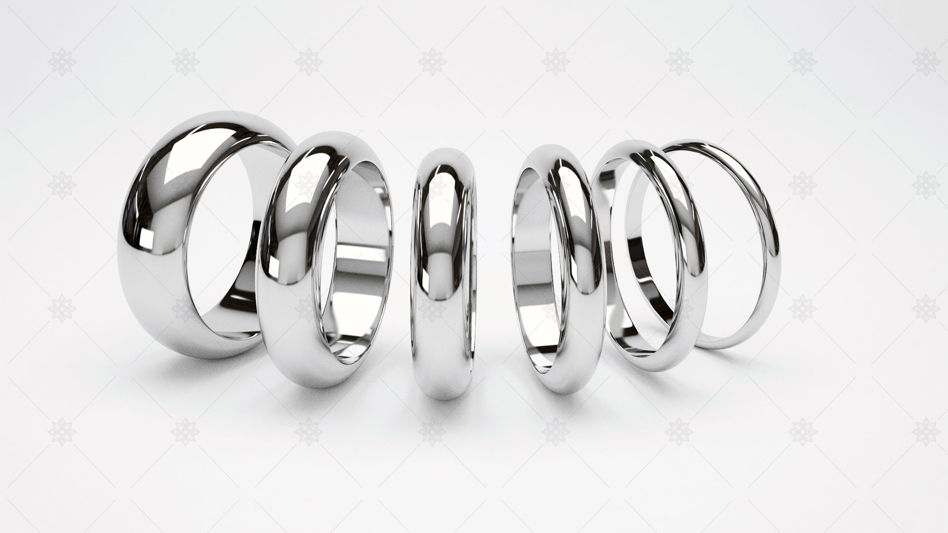plain wedding ring website banner design