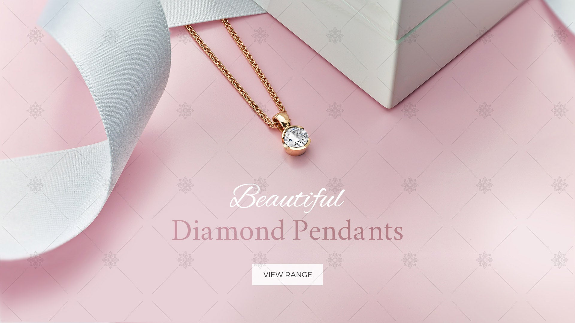 Diamond Pendants website banner