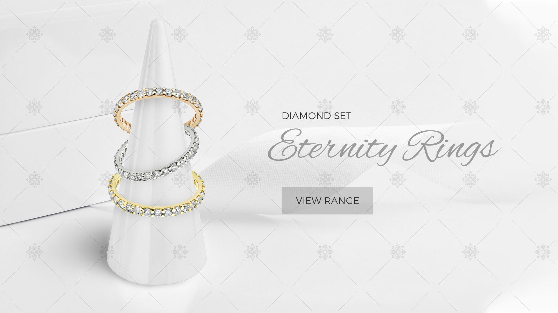Eternity Rings website banner design