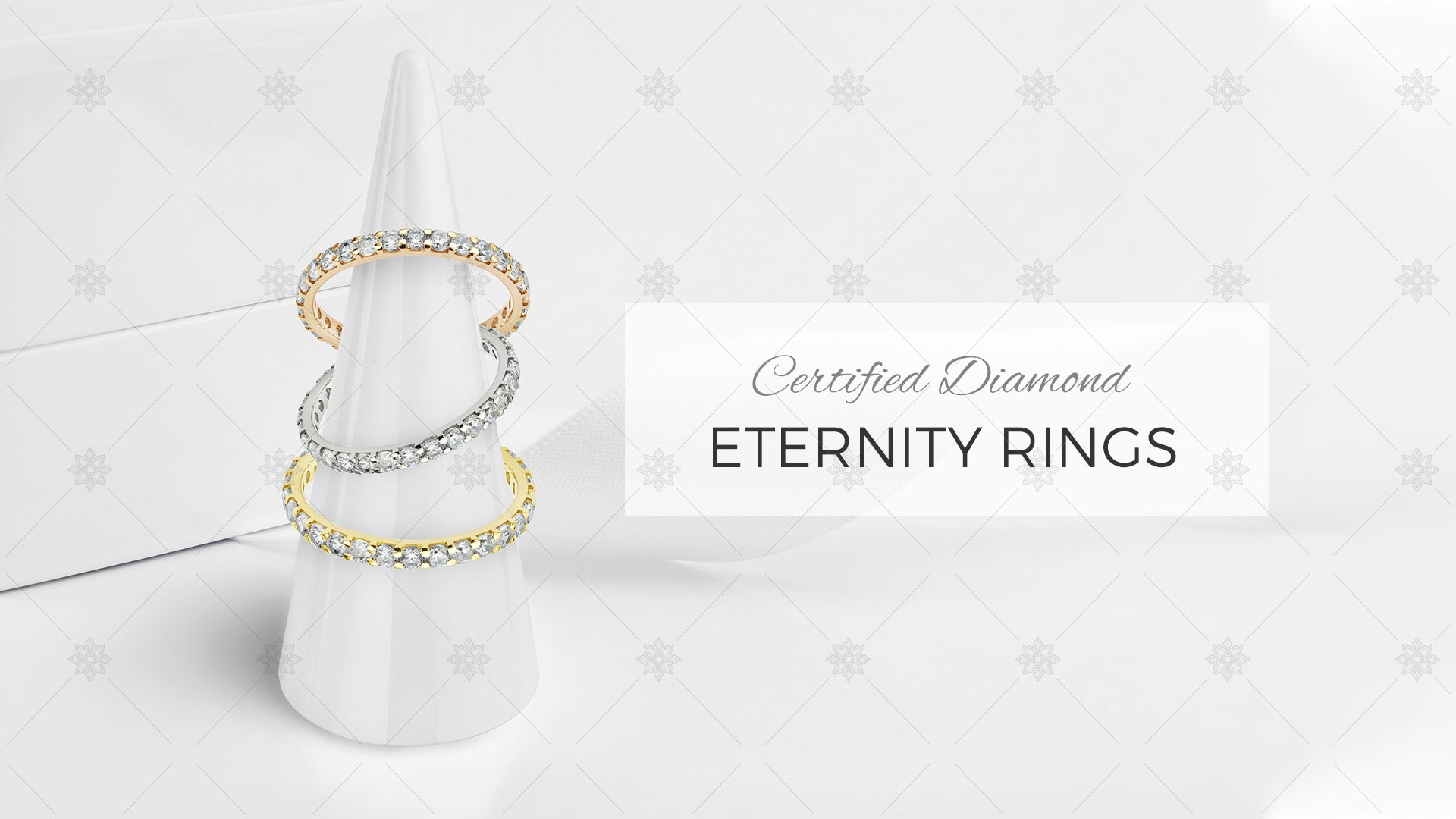 Diamond Eternity RIng Design website banner
