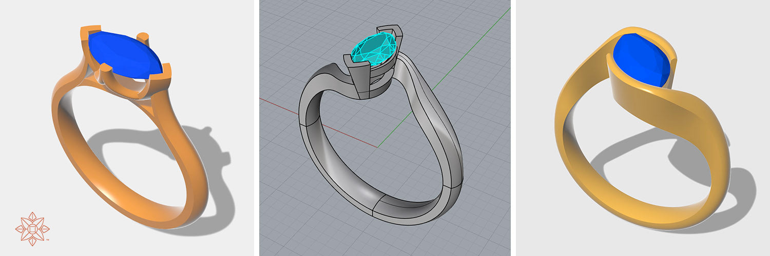Cad modelling for jewellers