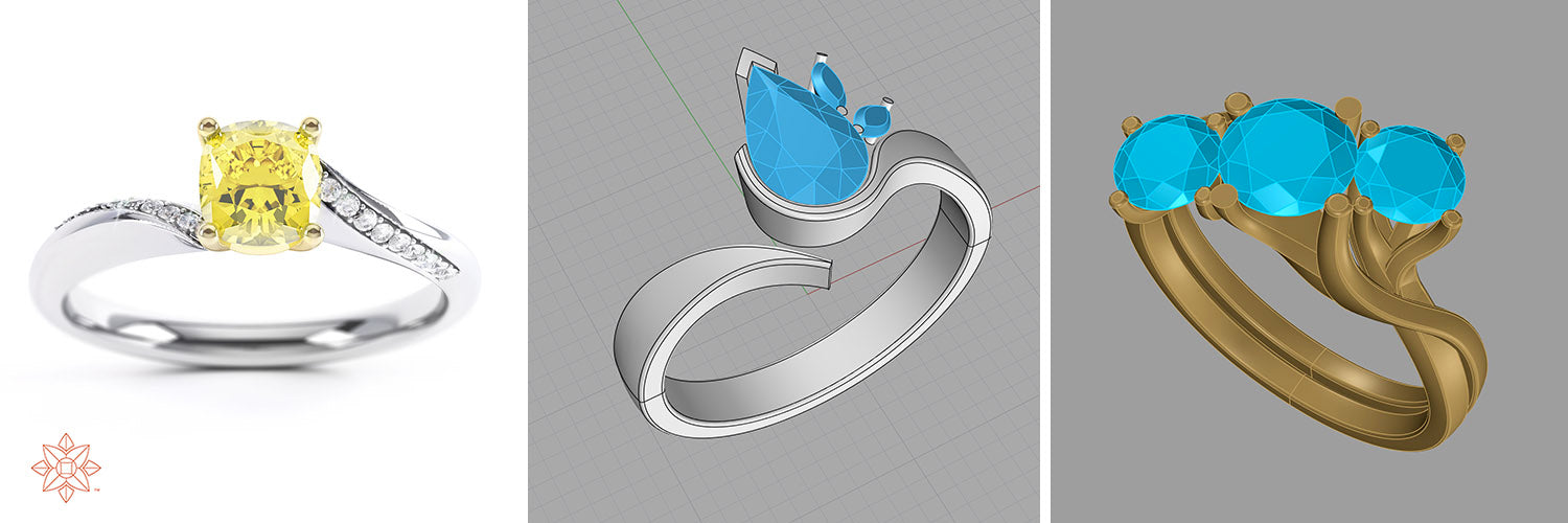 jewellery cad for manufacture service