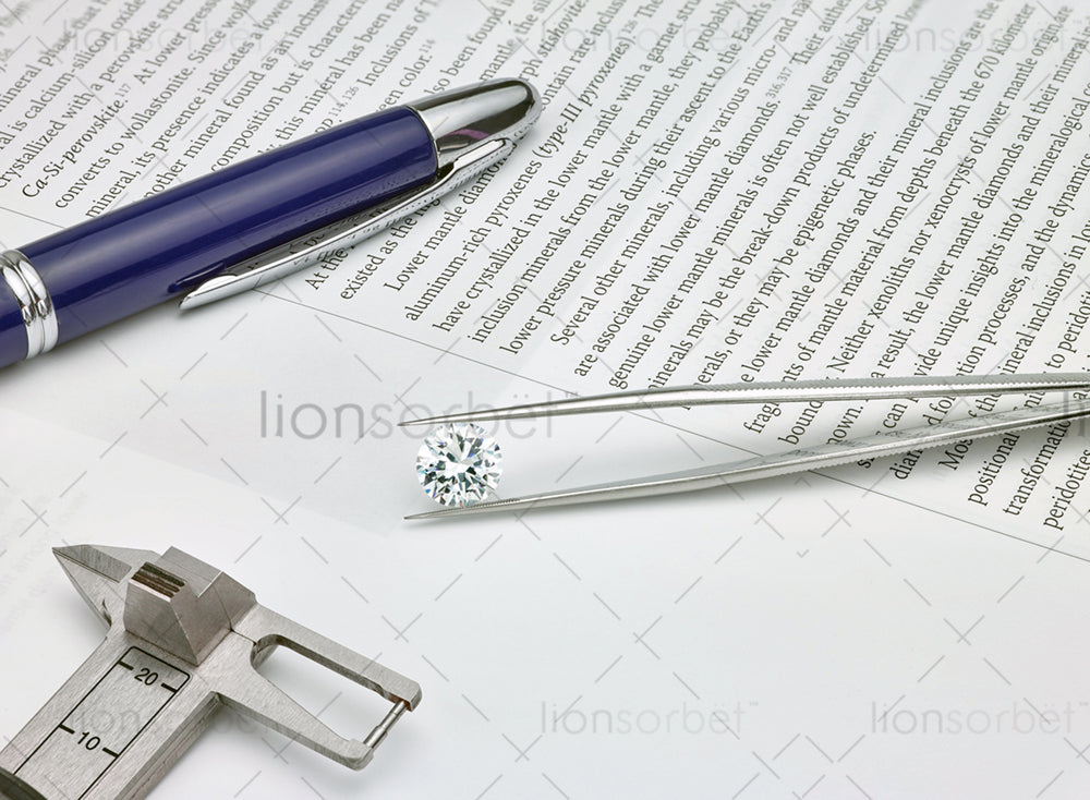 diamond pen and book