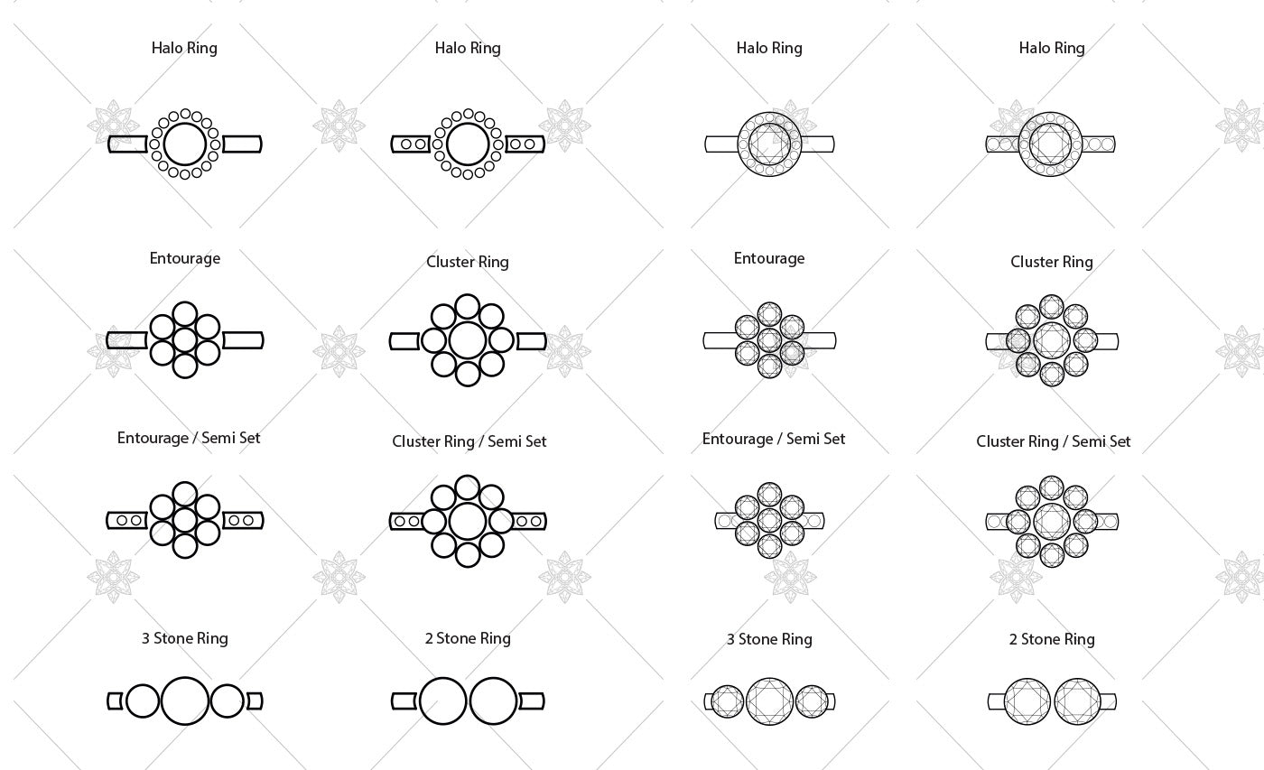 Diamond Ring Icons and Vector Graphics