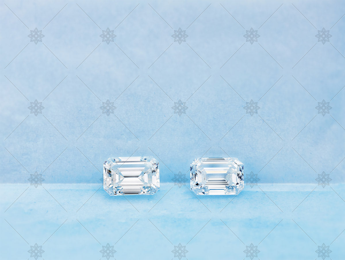 3ct emerald cut diamonds