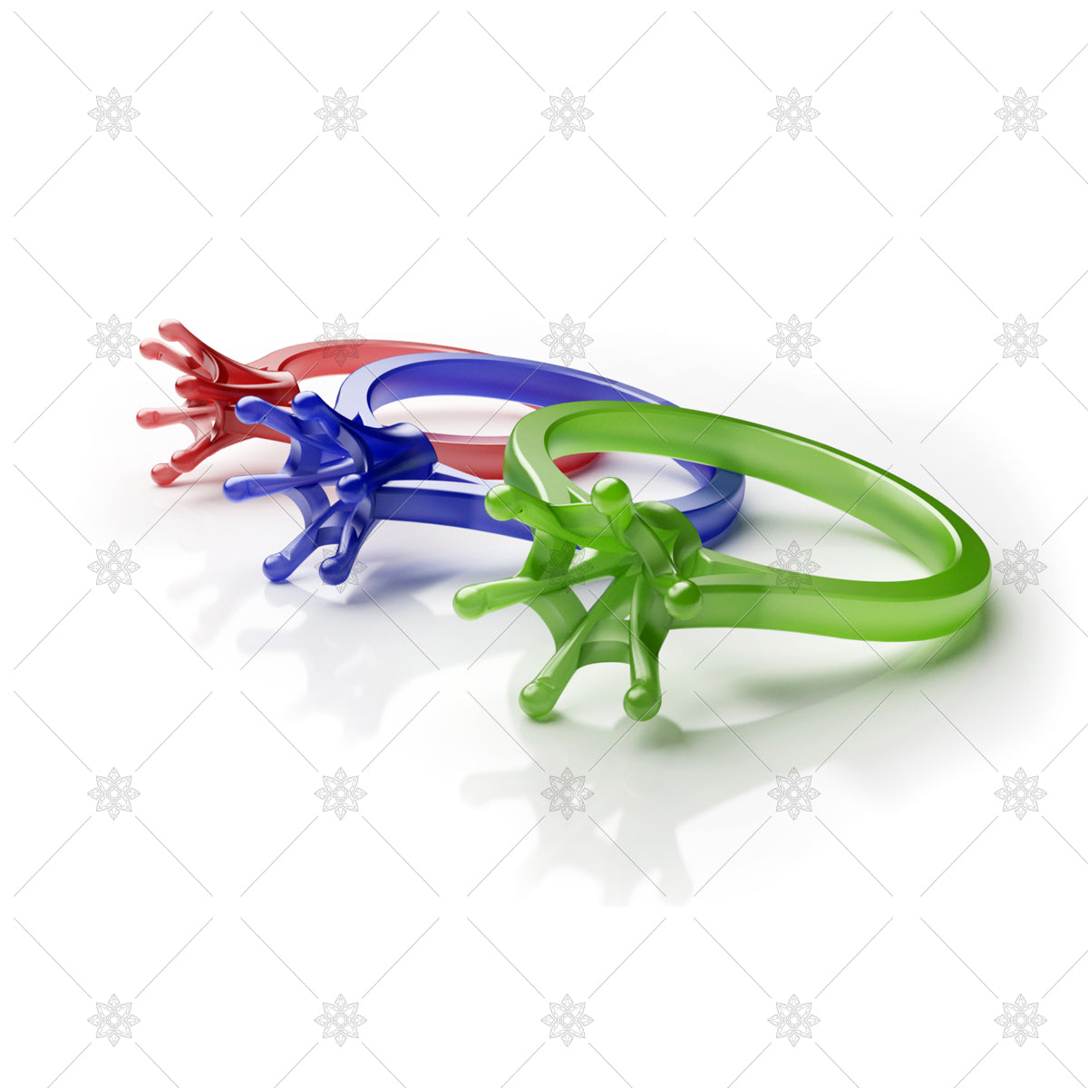 Ring Plastics Injection moulded jewellery
