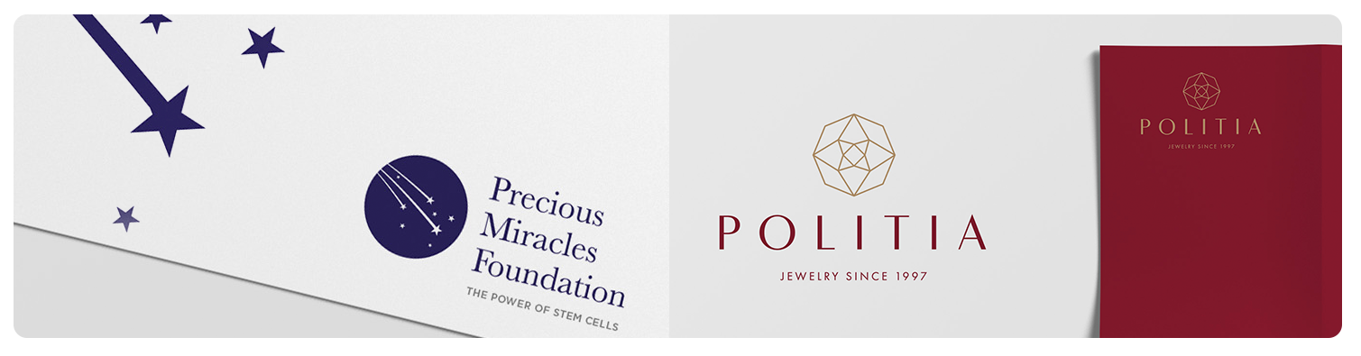 Jewellery logo design and branding