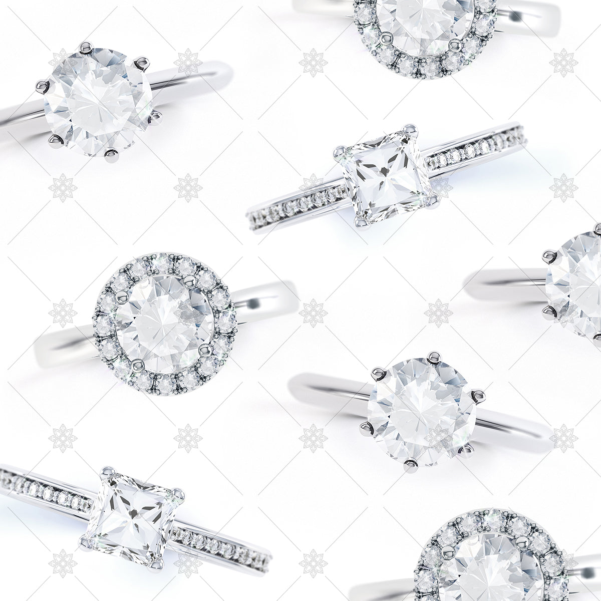 Diamond Rings top view